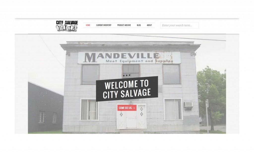 City Salvage Homepage