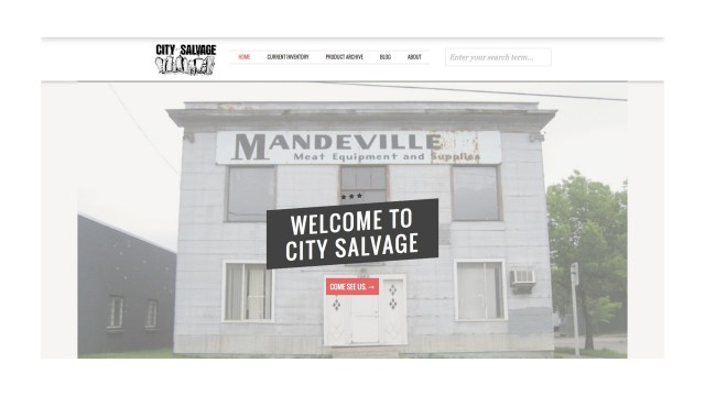 City Salvage Homepage