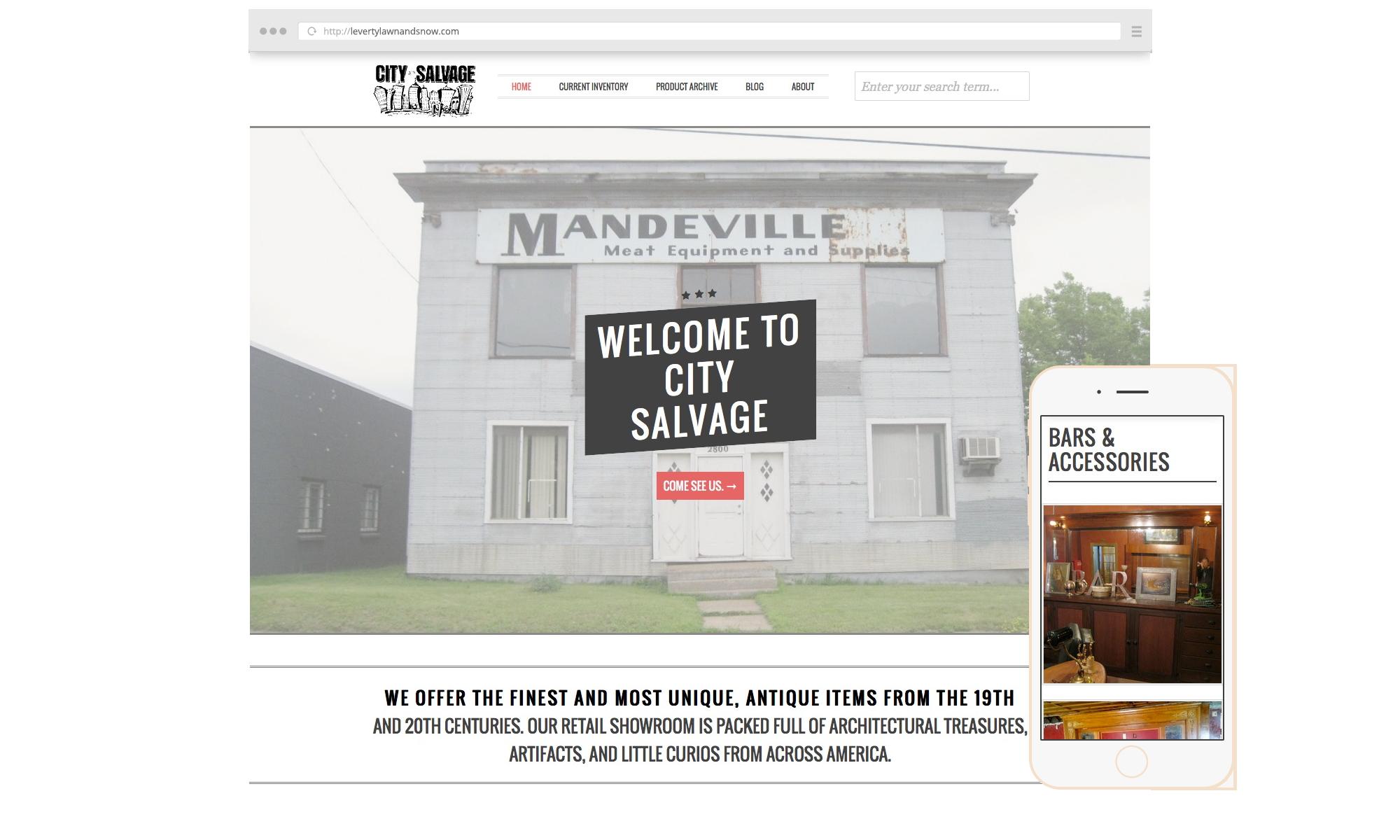 City-Salvage-Website