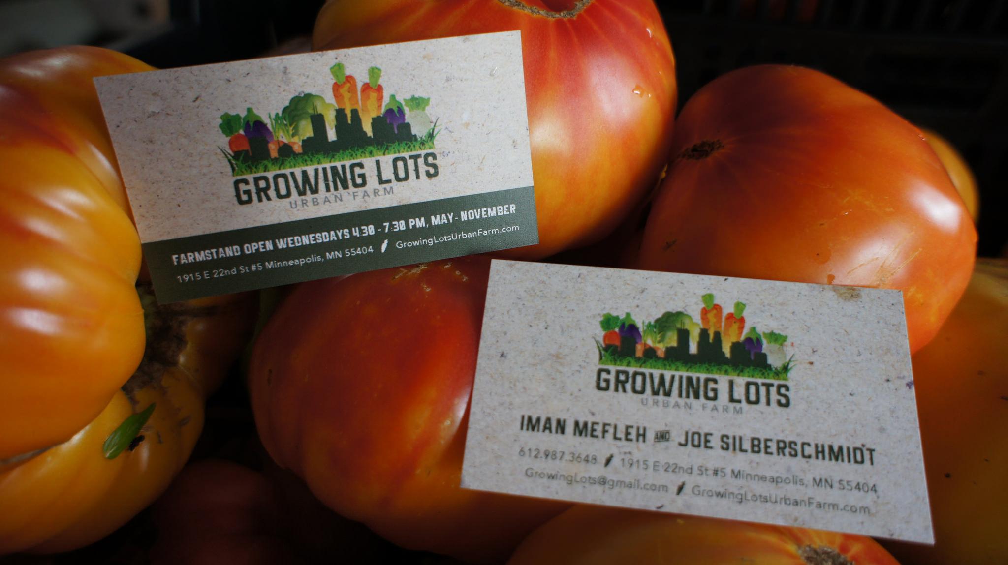 Growing-Lots-Card on veggies