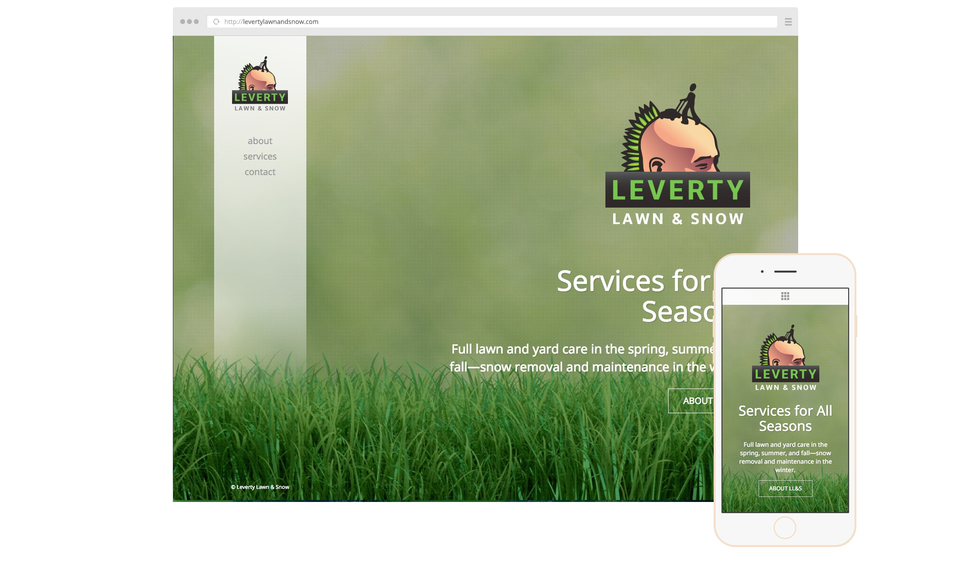Leverty-Website
