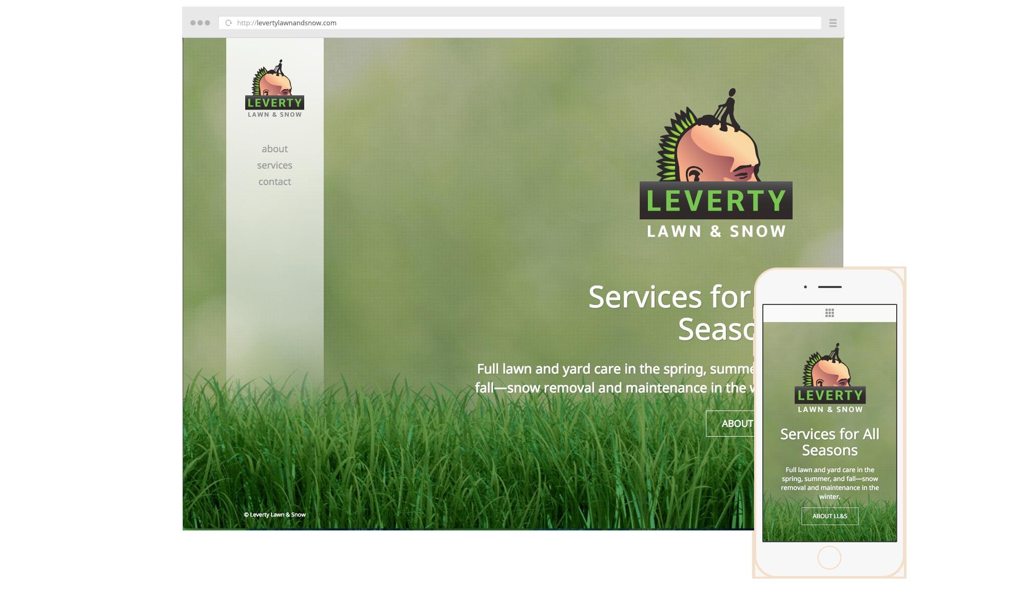 Leverty-Website